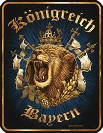 Lustige Bayern Aufkleber by K 246 Nigreich Bayern Wappen Blechschild 20x30