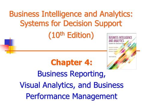 Business Analytics 2nd Edition decision support systems for business intelligence 2nd