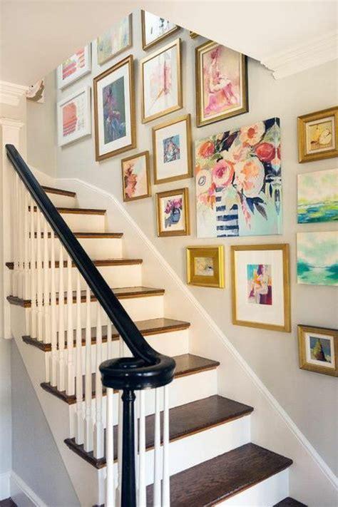 treppenhaus dekorieren 50 bilder und ideen f 252 r treppenaufgang gestalten