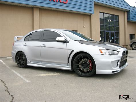 white mitsubishi lancer with black rims mitsubishi lancer evolution targa gallery mht wheels inc