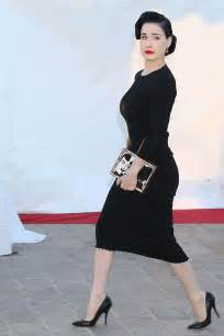 Dress Vonny Black dita teese in black dress 05 gotceleb