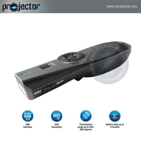 Wireless Presenter Prolink Pwp102g prolink pwp102g wireless presenter with air mouse buy at best price