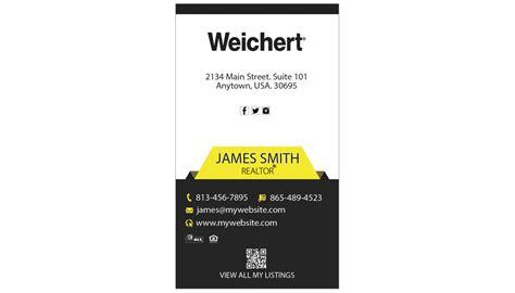 weichert business card template weichert realtors business cards 15 weichert business