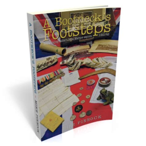 history book publishers uk a bootneck s footsteps by mike pinnock