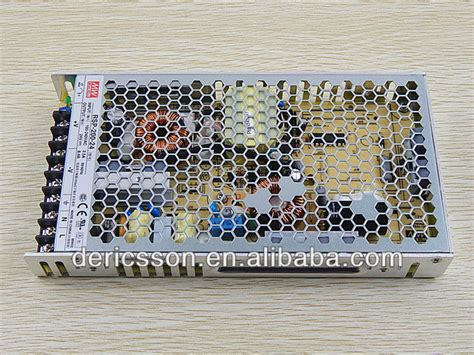 Power Supply Well Rsp 200 well 24v switching power supply 200w with pfc
