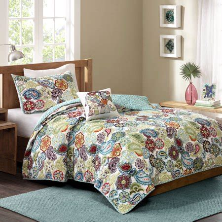 k mart bedspreads better homes and gardens paisley quilt set walmart