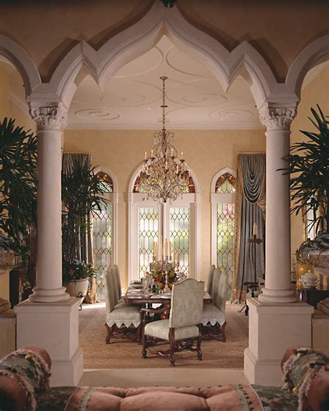 Mediterranean Dining Room by Mediterranean Formal Dining Room