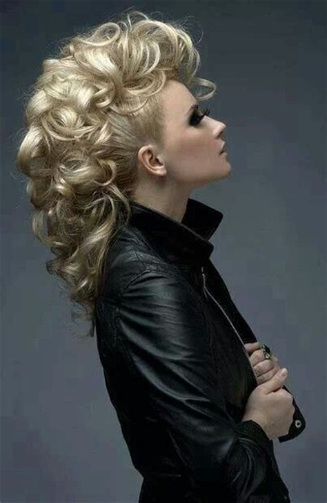 edgy sophisticated hairstyles style inspiration elegant mohawk classy rock more