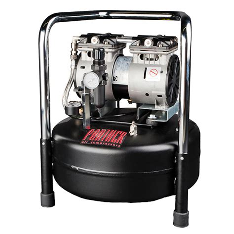 ultra oilless air compressor 2 5 cfm 6 gal tank 220v from davis instruments