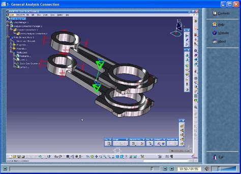 tutorial structure design catia catia v5 video tutorial structure analysis eng avaxhome