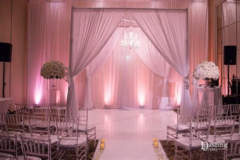 Wedding Ceremony Draping by Wedding Draping Los Angeles Orange County Pipe Drape
