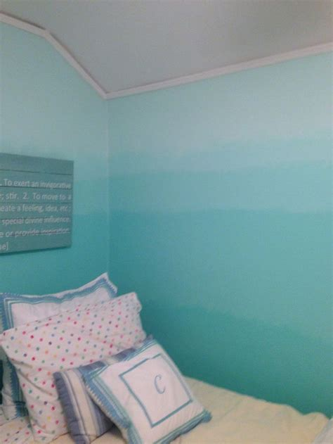 ombre wall ombr 233 painted walls completed projects pinterest