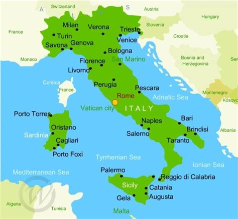 adriatic sea map map of italy and adriatic sea with pictures to pin on pinsdaddy