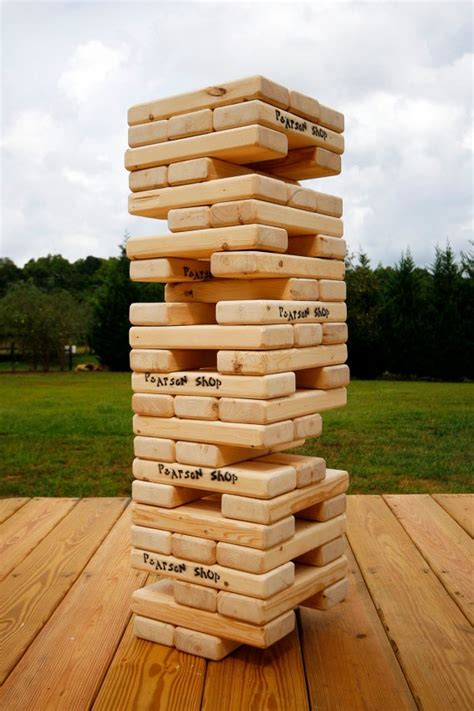 patio jenga 31 best giant toppling towers images on pinterest giant