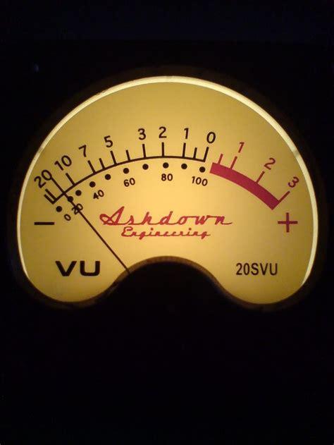 Vu Meter Ashdown Bass Vu Meter Guitar S Bass
