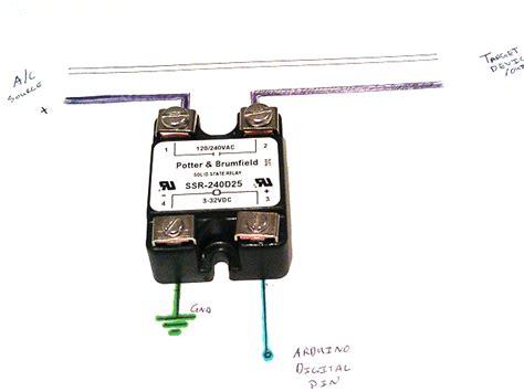 real world arduino relay use