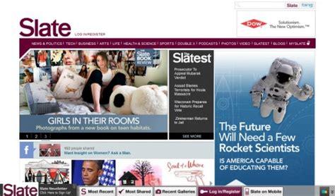 video slate magazine 25 stunning magazine style website designs wpaisle