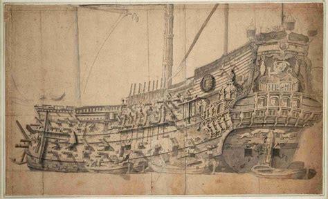 barco guerra dibujo lienzo tela dibujo barco guerra ingl 233 s por babor 50 x 82