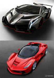 Laferrari Vs Lamborghini Veneno Lamborghini Veneno Vs Laferrari Cars The Luxury