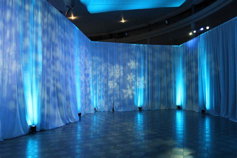 event draping company ponds forge draping svl hire