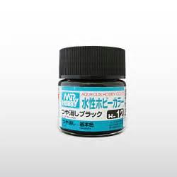 Mr Acrysion Water Based N2 Black Mr Hobby mr hobby gsi h12 flat black 10ml gunze aqueous hobby color acrylic paint