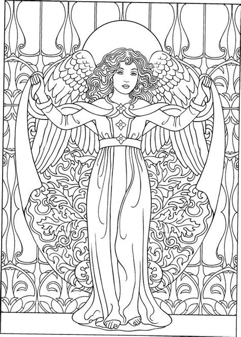 pin  doki  engel angel coloring pages fairy