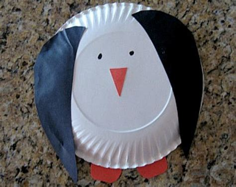 Penguin Paper Plate Craft - 34 cool and amazing penguin craft ideas hubpages