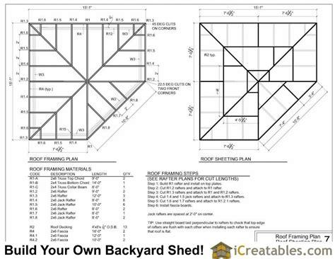 Corner Shed Roof Design