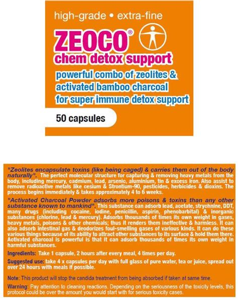 Detox Healing Crisis Symptoms by Zeoco Candida Die Support Candida Cell Wall Suppressor