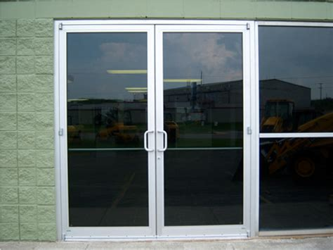exterior glass doors commercial