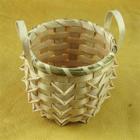Handmade Indian Crafts - handmade indian basket 11 mesa farm american
