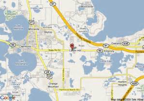 map of hton inn suites clermont fl clermont