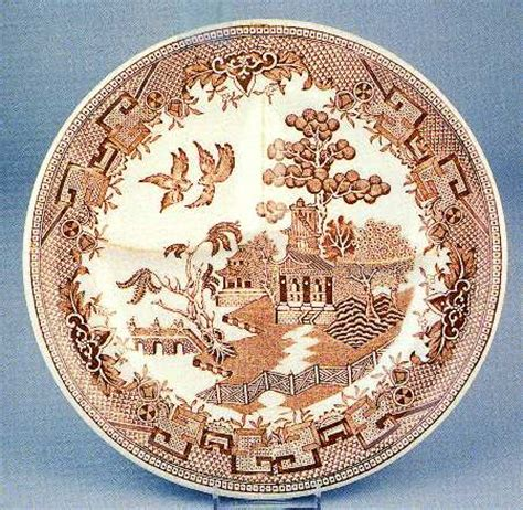 brown willow pattern sterling china usa brown willow at replacements ltd