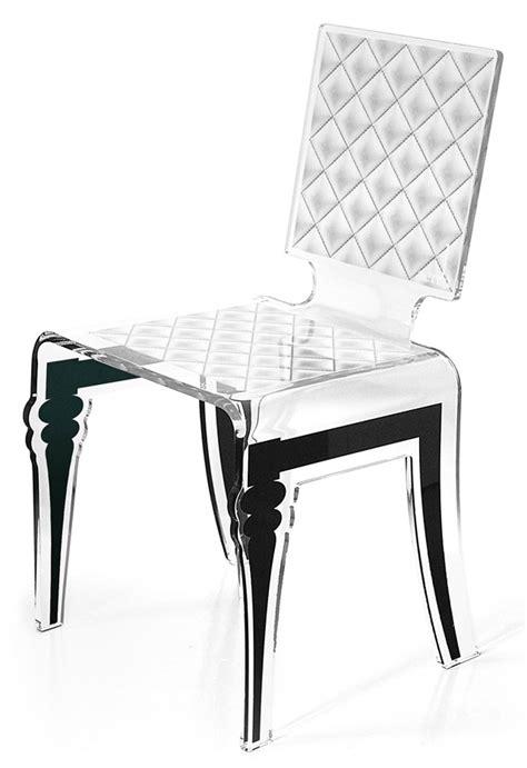 chaise plexiglass