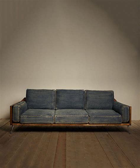 jean sofa 25 best ideas about denim sofa on pinterest bench jeans