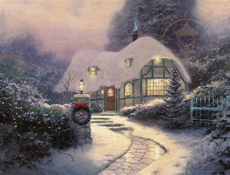 kinkade cottage kinkades cottage www imgkid the