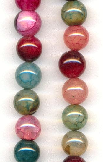 466 Dyed Agate Cutting 10mm 10mm mixed crackle agate dyed jan s jewelry supplies