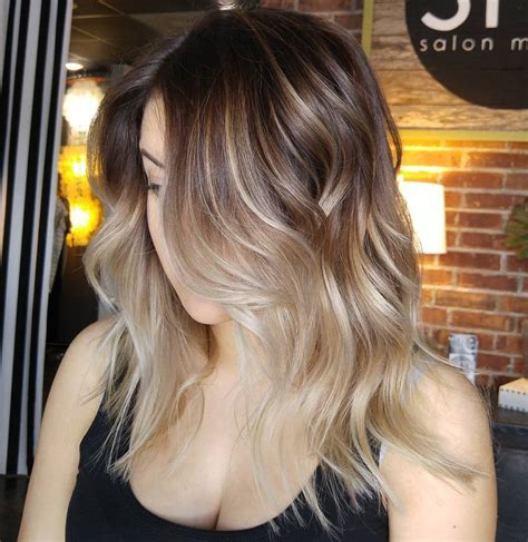 blonde highlights and ombre 60 best ombre hair color ideas for blond brown red and