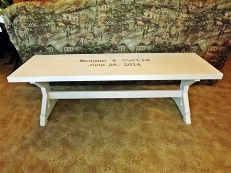 wedding benches ana white wedding guest bench diy projects