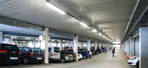 parking lot lighting solutions smart light for vw parking garage in baunatal germany