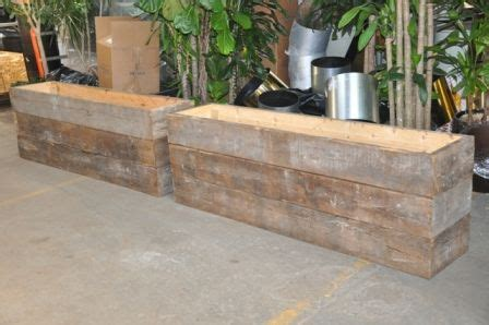 Wood Planters For Sale by 1000 Images About Restaurant Spaces On Pizza
