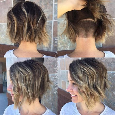 hidden stack shape haircut 25 best ideas about undercut bob on pinterest undercut