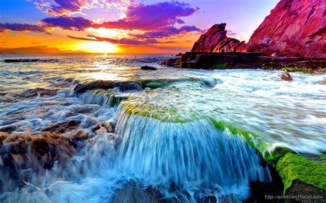 beautiful scene  earth ocean wallpaper windows