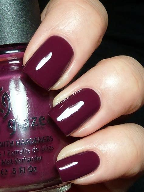 burgundy nail polish colors 69 best images about nechty on pinterest nail art