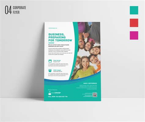 free indesign bundle 10 corporate flyer templates
