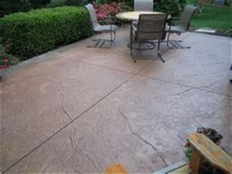 How To Refinish A Concrete Patio by Concrete Patio Resurfacing Ideas For The Home