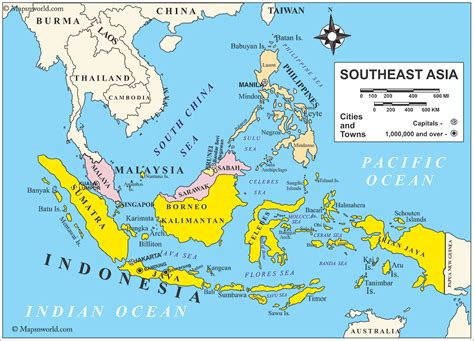 map of east and south asia south east asia map southeast asia