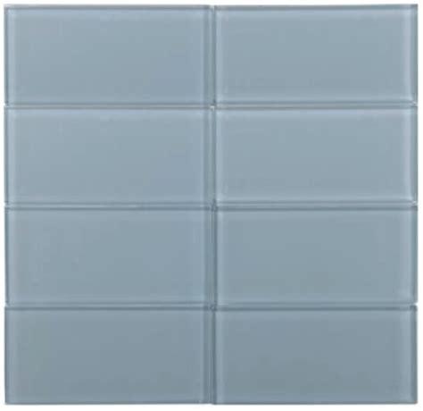 sky blue glass subway tile subway tile outlet 10 45sf glass subway 3 quot x 6 quot sky blue tile 8mm