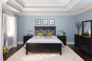 Green Floor Vase Master Bedroom With Triple Tray Ceiling Traditional