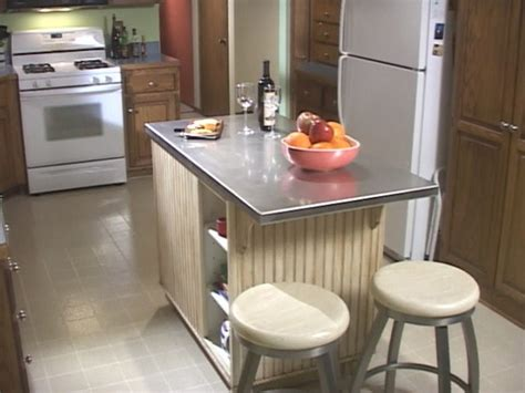 how to build a custom kitchen island how tos diy